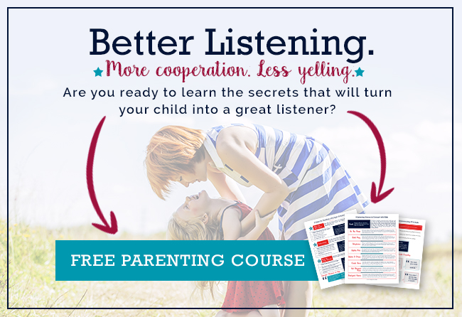 Get kids to listen email series for parents