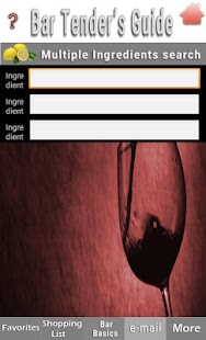 Bartenders Guide - náhled