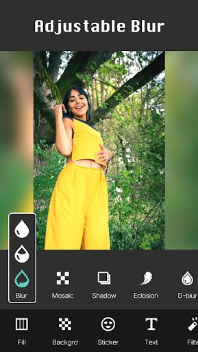 Square Pic Photo Editor - Collage Maker Photo Blur screenshots 1