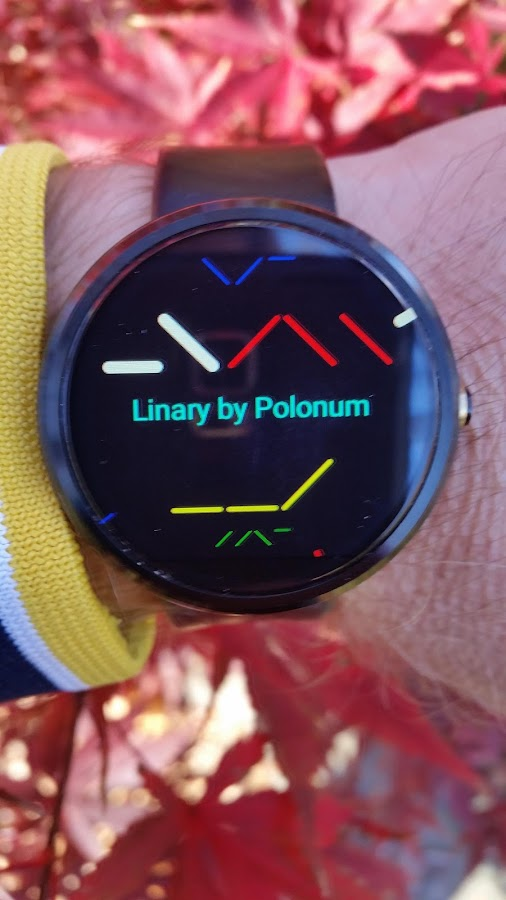 Linary Watch Face- screenshot