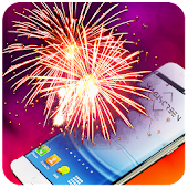 Fireworks Livewallpaper with sound 2018