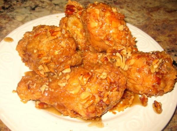 Honey Pecan Glazed Fried Chicken Recipe