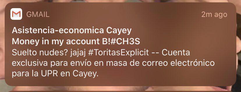 Hacker envía propaganda y amenazas a través de correo institucional de UPR Cayey
