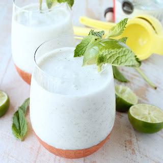 Frozen Coconut Mojito.