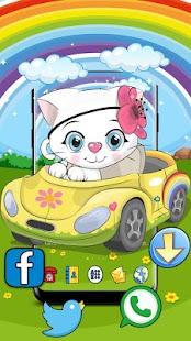 Cute Kitty Racing Theme - náhled