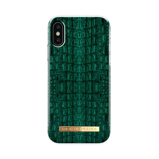Mobilskal. iDeal of Sweden Emerald Croco iPhone 11 Pro