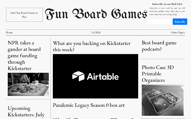 Fun Board Games Chrome Webstore