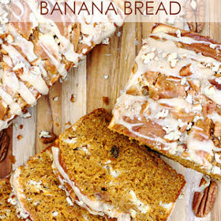 Pumpkin Cream Cheese Banana Bread.