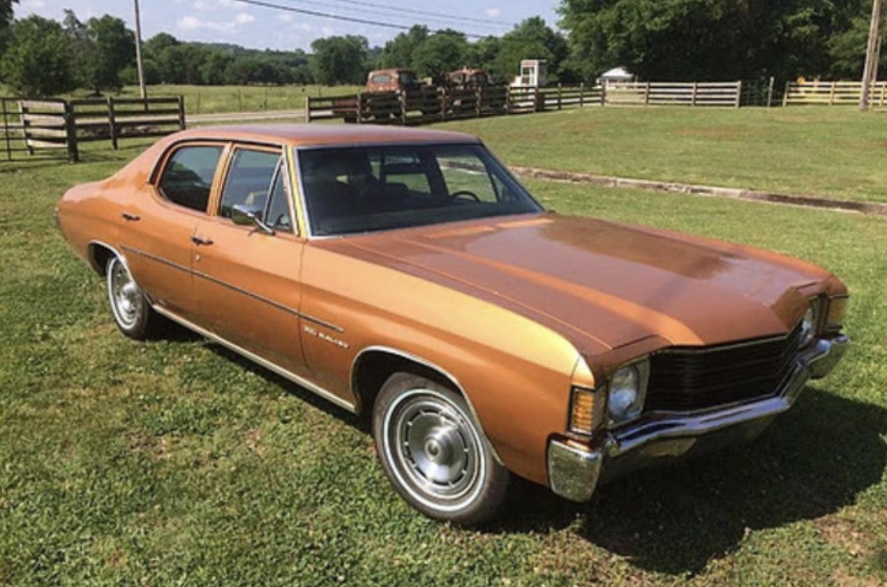 1972 Chevrolet Chevelle in Nashville Hire Lebanon