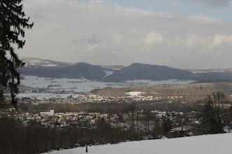Photo: A Swiss village.