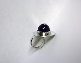Photo: Anne-Marie. zilveren ring met amethist