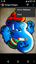 Best Rangoli Designs Ideas - screenshot thumbnail 05