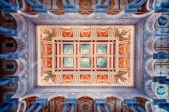 Photo: The Great Hall of the Library of Congress  It's such a stunning building, sometimes it's hard to know which way to look. So, I looked up.  If you like this photo, there are more like it on my blog at http://williambeem.com.