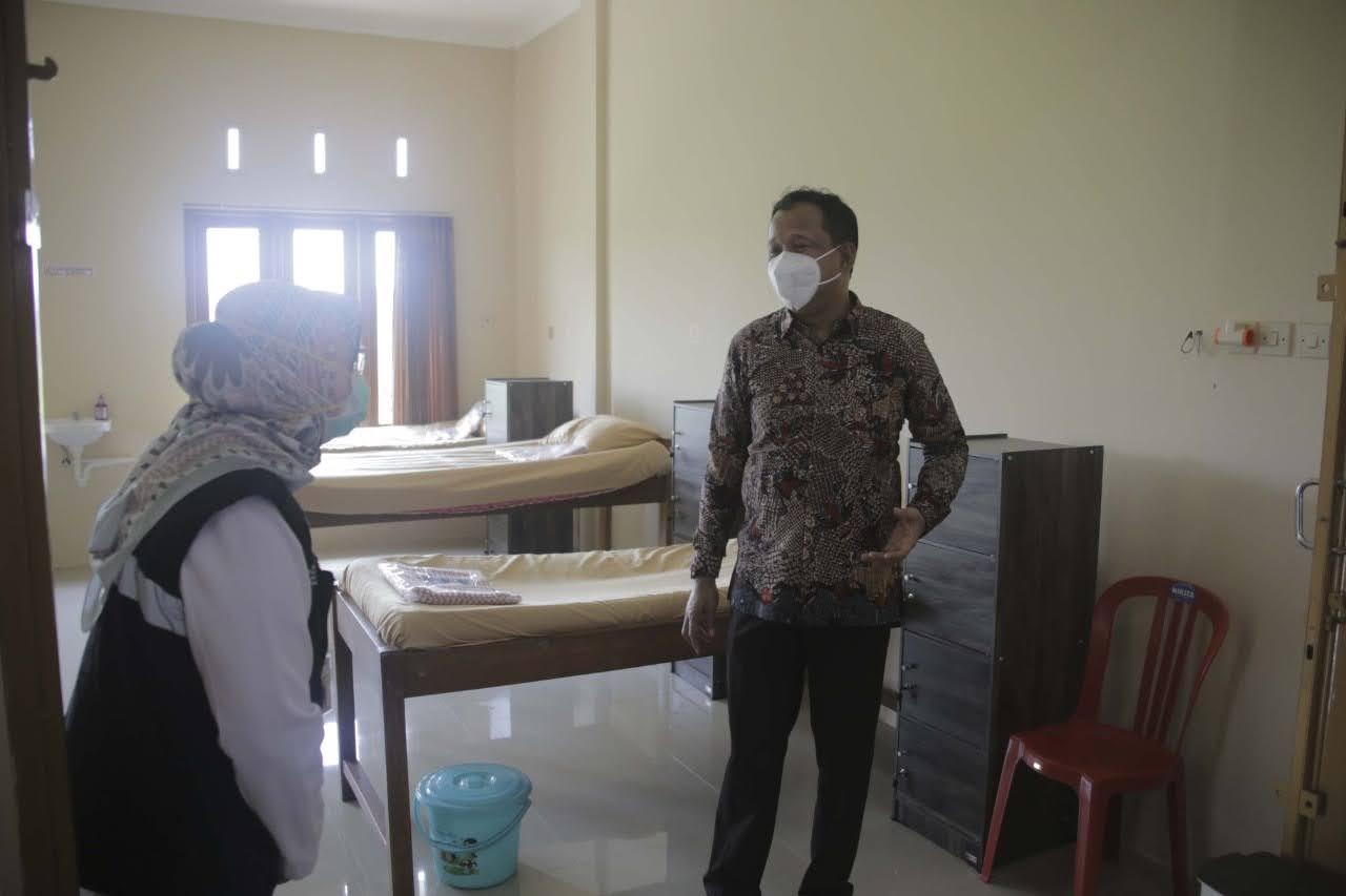 Mulai Digunakan, Rumah Karantina II di Ponorogo Mampu Tampung 74 Pasien