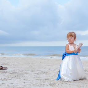 Beach Angel by Andy Glogower - People Family