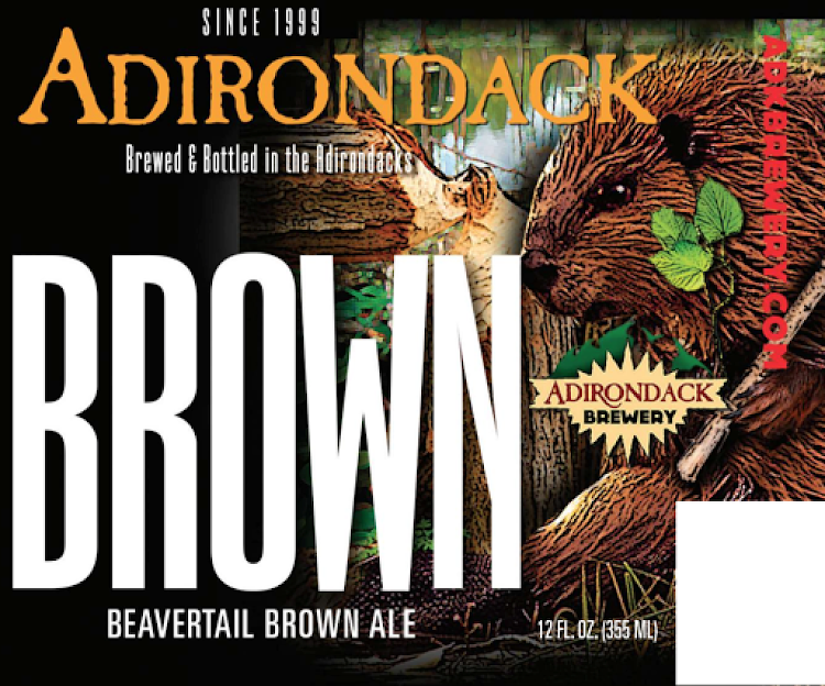Logo of Adirondack Beaver Tail Brown Ale