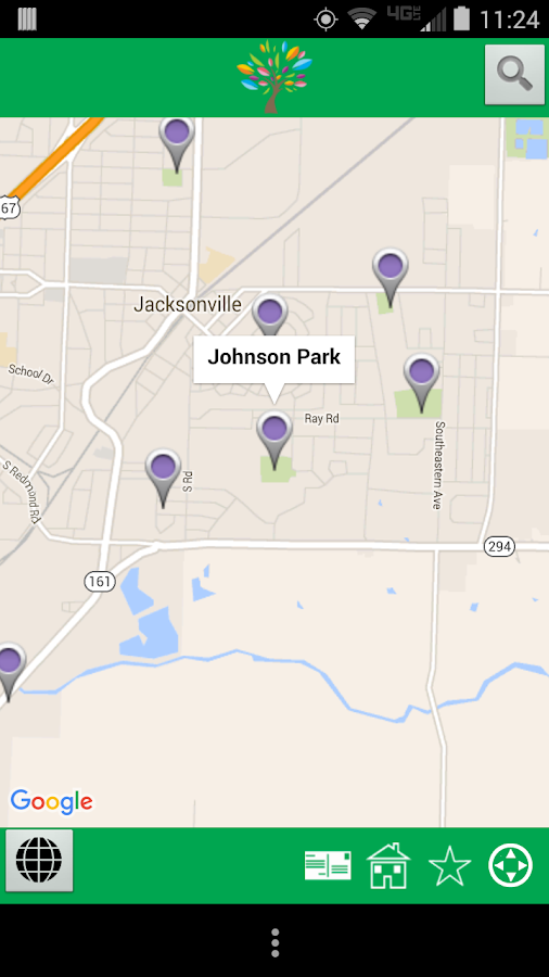 Jacksonville AR Parks and Rec- screenshot