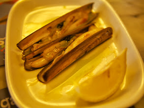 Photo: Can't go wrong with grilled razor clams!