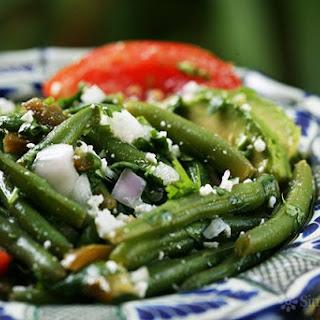 Mexican Green Bean Salad.