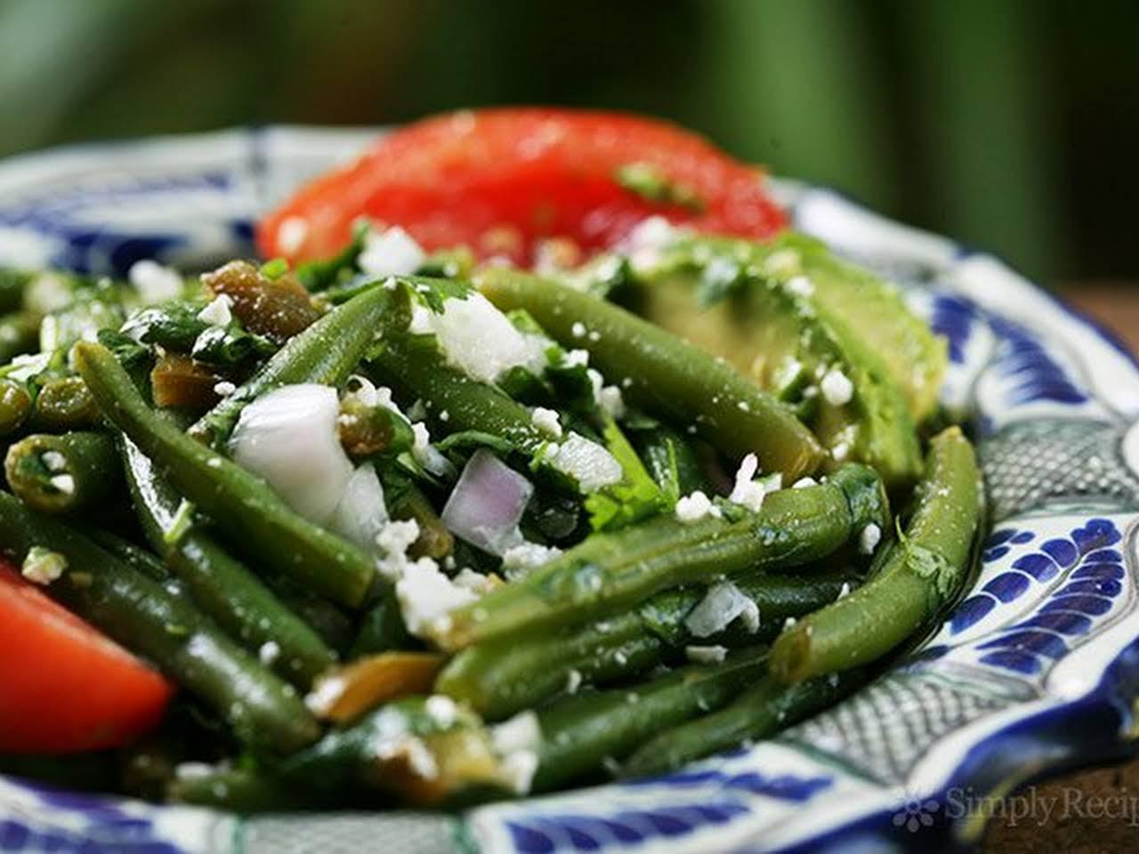 Nandos Avocado And Green Bean Salad Recipe