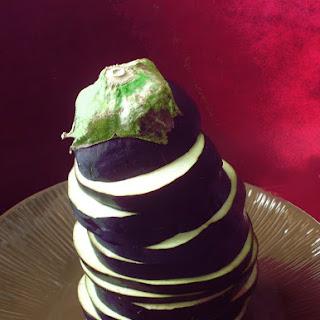 Eggplant Ricotta Bake.