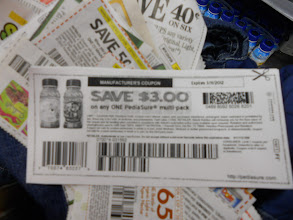 Photo: getting started with $3.00 off Pedi-Sure (coupon for signing up on their website)