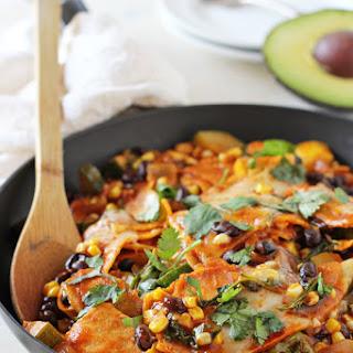 Summer Vegetable Skillet Enchiladas Recipe