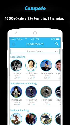 玩免費運動APP|下載ZonedIn- Skateboarding app不用錢|硬是要APP