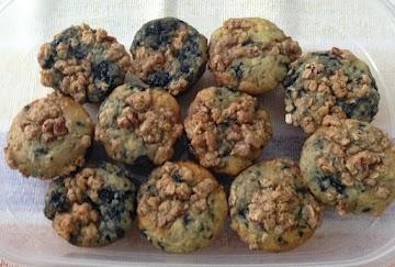 Cherry Streusel Muffins Recipe
