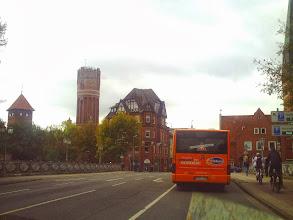 Photo: Ankunft in Lüneburg (7. Oktober 2011, 13:47 Uhr).