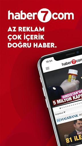 Haber 7 - Son Dakika Haberler ve Gazete Manşetleri 2.3.8 screenshots 1