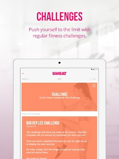 Sweat: Kayla Itsines Fitness- screenshot thumbnail