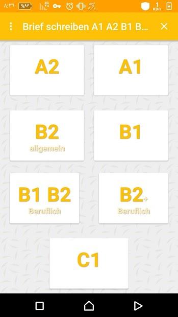 Brief Schreiben A1 A2 B1 B2 C1 On Google Play Reviews Stats