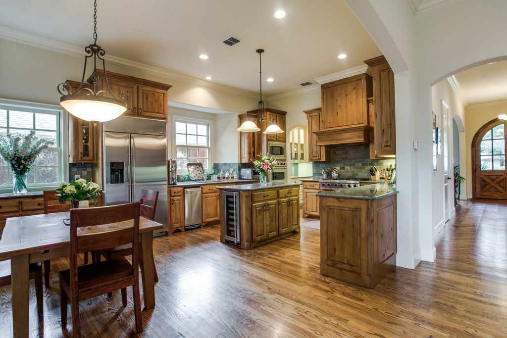 before kitchen west highland park dallas home renovation and staging