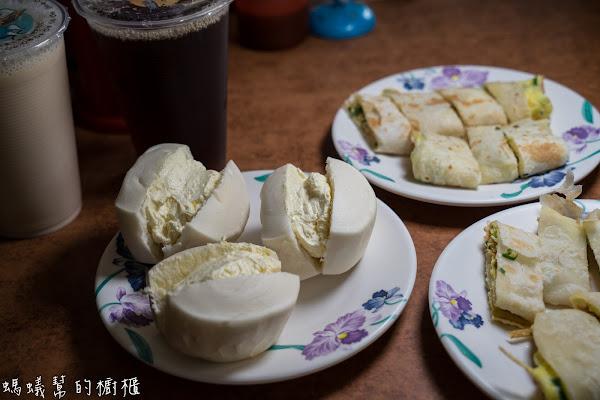 員林早餐店老二早點|獨家手工爆漿鮮奶小饅頭,自家製酥脆蛋餅皮,員林早餐店推薦。