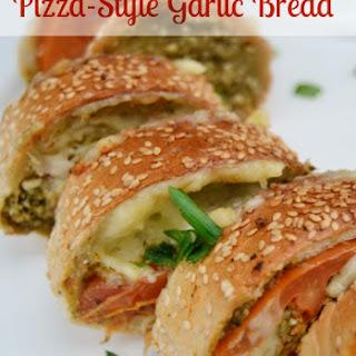 Pizza-Style Garlic Bread.
