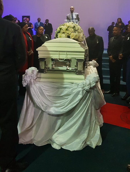 Siyasanga Kobese's funeral in Queenstown.