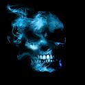 Smoking Skull Live Wallpaper icon