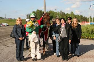 Photo: Suomenhevosten Veeruska-ajon voittaja 30.5.2010 Tuli Nopsa/Teemu Okkolin