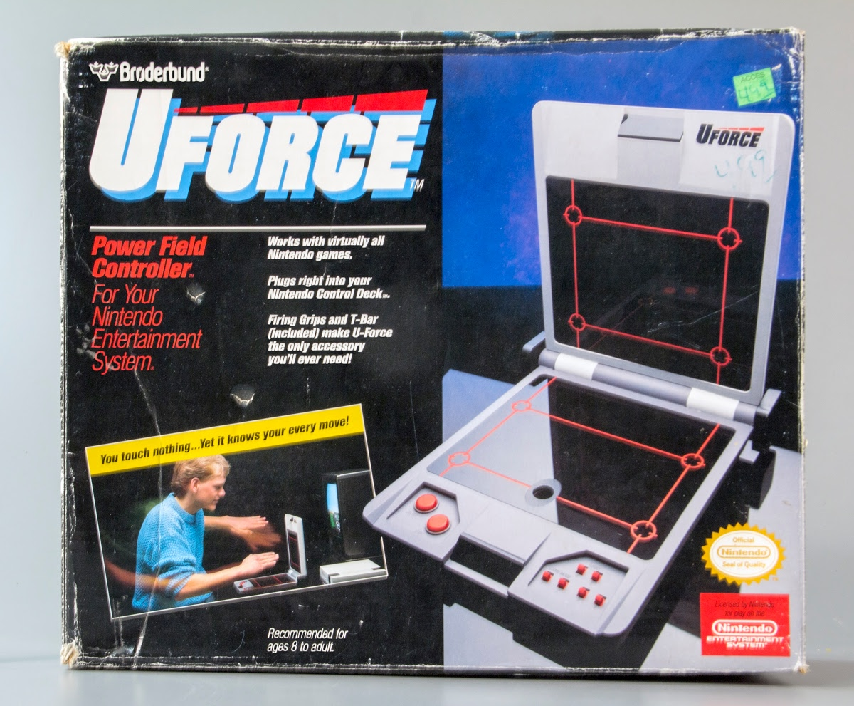 Video game controller:Nintendo U-Force Power Field Controller ... best nes accessories -