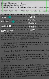 Common Symptom Guide Screenshot