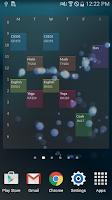 Screenshot of Timetable TimeSpread