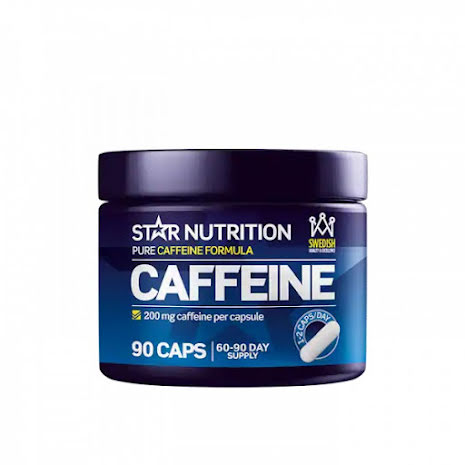 Star Nutrition Koffein 200mg - 90 caps