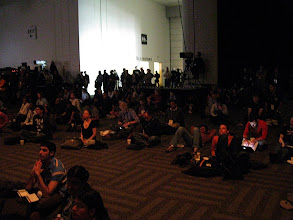 Photo: The keynote room was packed