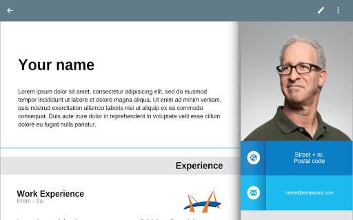 Resume App  screenshots 2