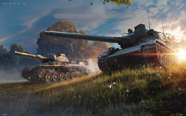 World of Tanks Wallpapers NEW TAB