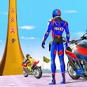 Police bike Stunt Bike Racing icon