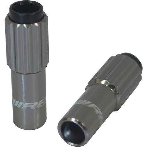 Jagwire Mini Inline Adjusters, Dark Silver