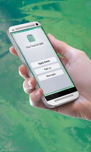 Grey Twist GO SMS