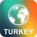 Turkey Offline Map icon